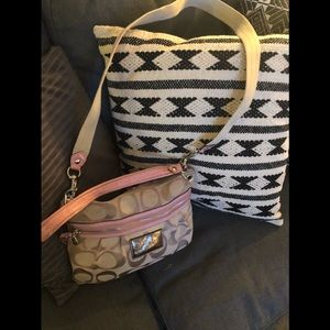 Coach  Poppy Bag with long strap